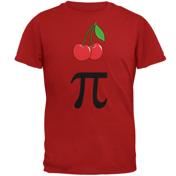 Halloween Math Pi Costume Cherry Day Mens Soft T Shirt