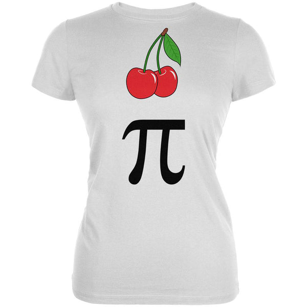 Halloween Math Pi Costume Cherry Day Juniors Soft T Shirt