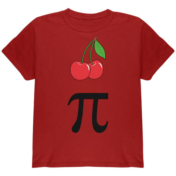 Halloween Math Pi Costume Cherry Day Youth T Shirt