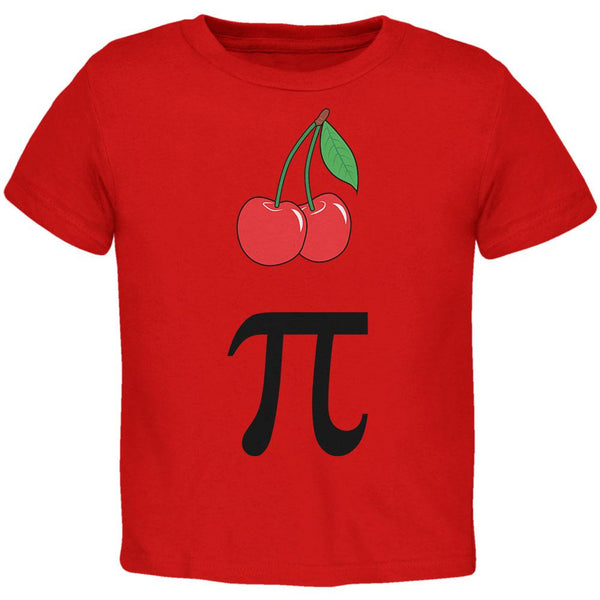 Halloween Math Pi Costume Cherry Day Toddler T Shirt