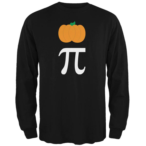 Halloween Math Pi Costume Pumpkin Day Mens Long Sleeve T Shirt