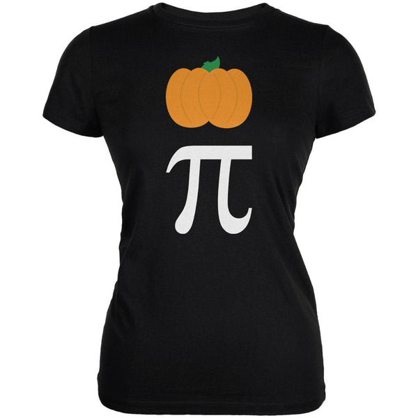 Halloween Math Pi Costume Pumpkin Day Juniors Soft T Shirt