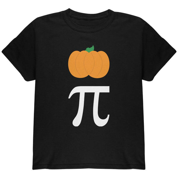 Halloween Math Pi Costume Pumpkin Day Youth T Shirt