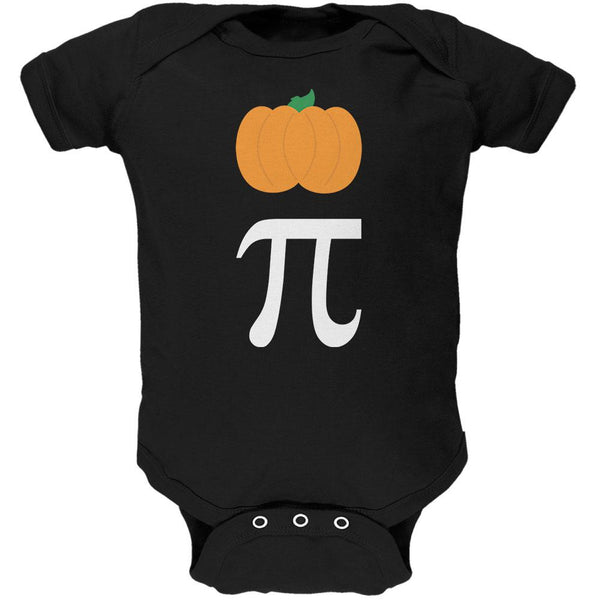 Halloween Math Pi Costume Pumpkin Day Soft Baby One Piece