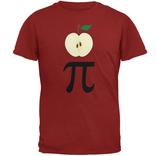 Halloween Math Pi Costume Apple Day Mens T Shirt