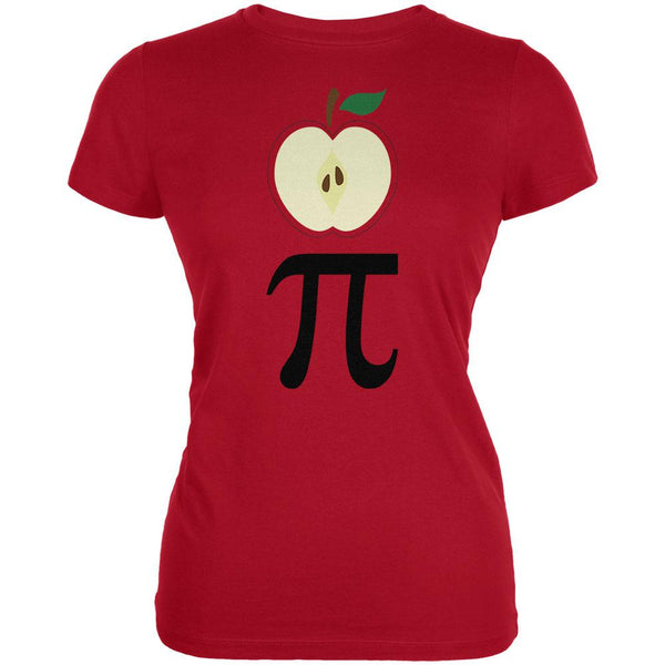 Halloween Math Pi Costume Apple Day Juniors Soft T Shirt