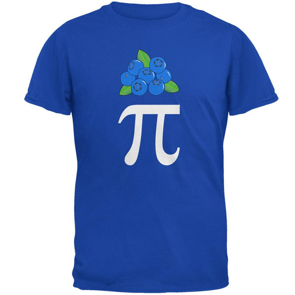 Halloween Math Pi Costume Blueberry Day Mens Soft T Shirt