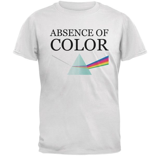 Halloween Absence of Color Costume Mens Soft T Shirt