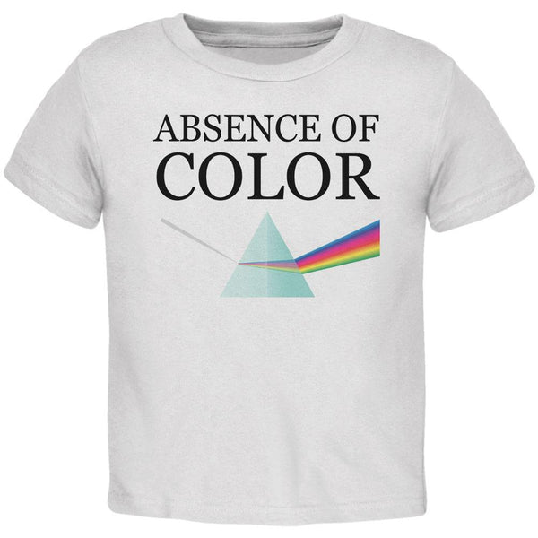 Halloween Absence of Color Costume Toddler T Shirt