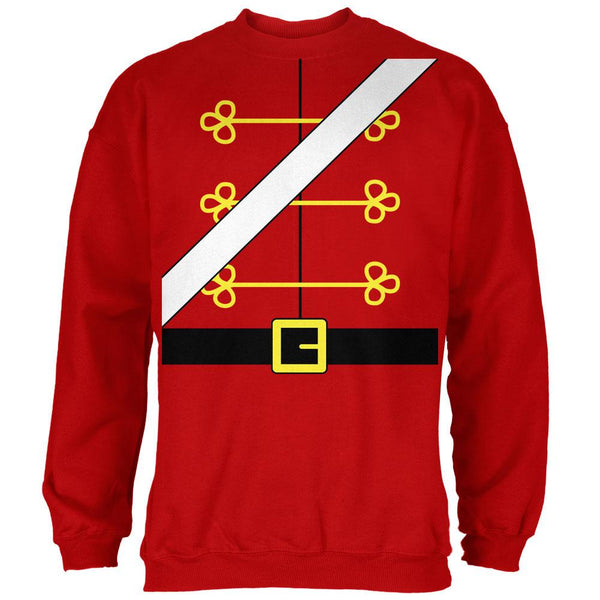 Christmas Toy Soldier Nutcracker Costume Mens Sweatshirt