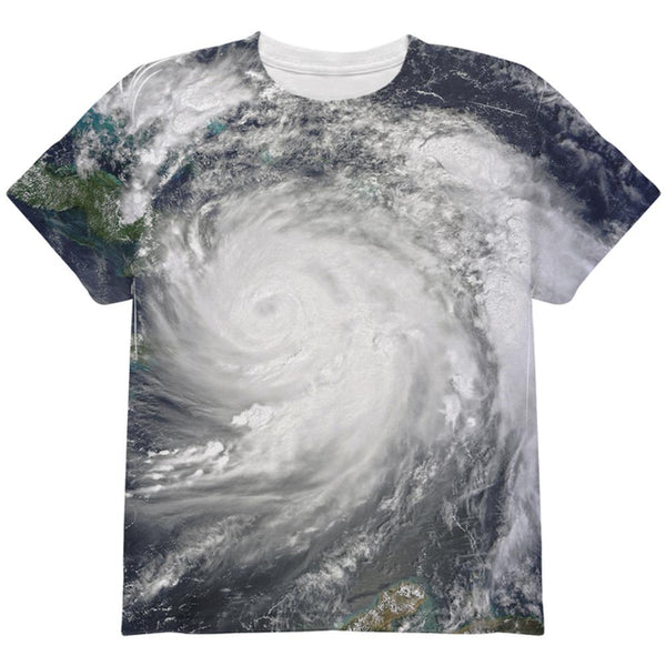 Halloween Gulf Coast Hurricane Costume All Over Youth T Shirt