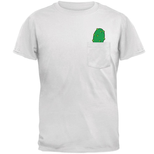 Pocket Pickle Funny Mens Pocket T Shirt