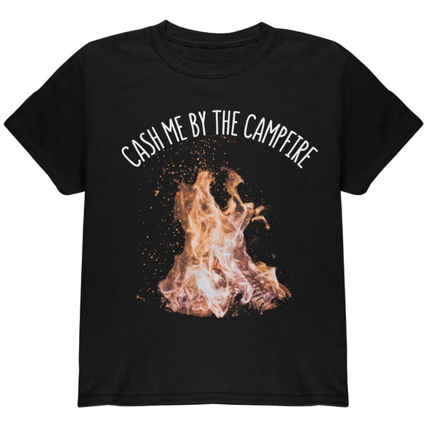 Autumn Cash Me by the Campfire Youth T Shirt