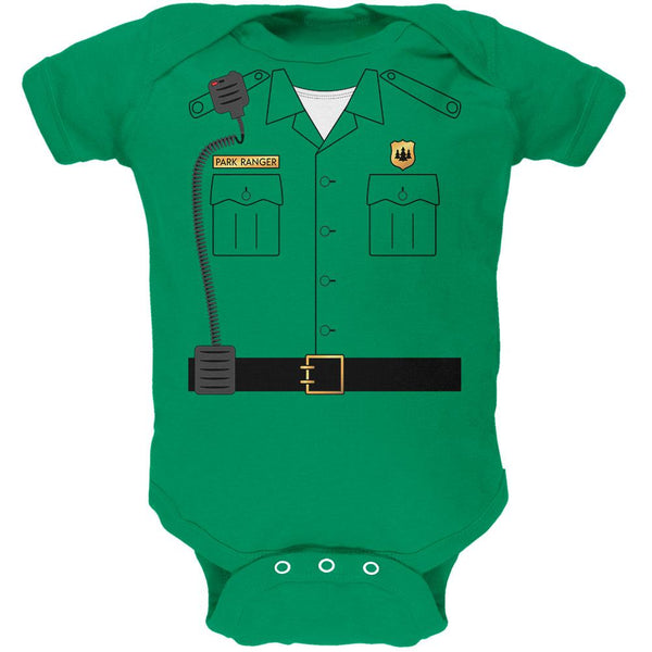 Halloween Forest Park Ranger Costume Soft Baby One Piece