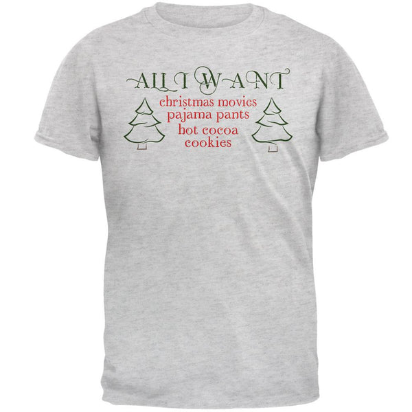 All I Want For Christmas Mens T Shirt