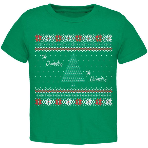 Christmas Tree Periodic Table Toddler T Shirt