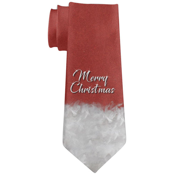 Merry Christmas Santa Claus All Over Neck Tie