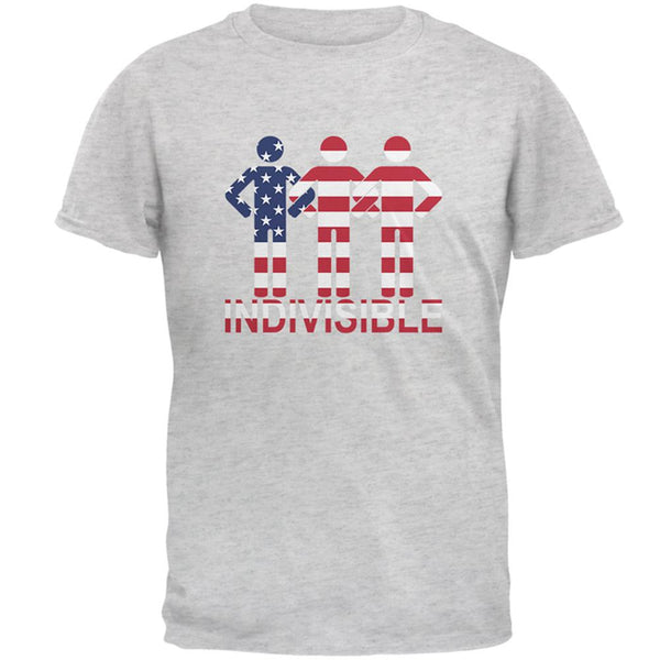 Indivisible United Arms Interlocked American Flag Mens T Shirt