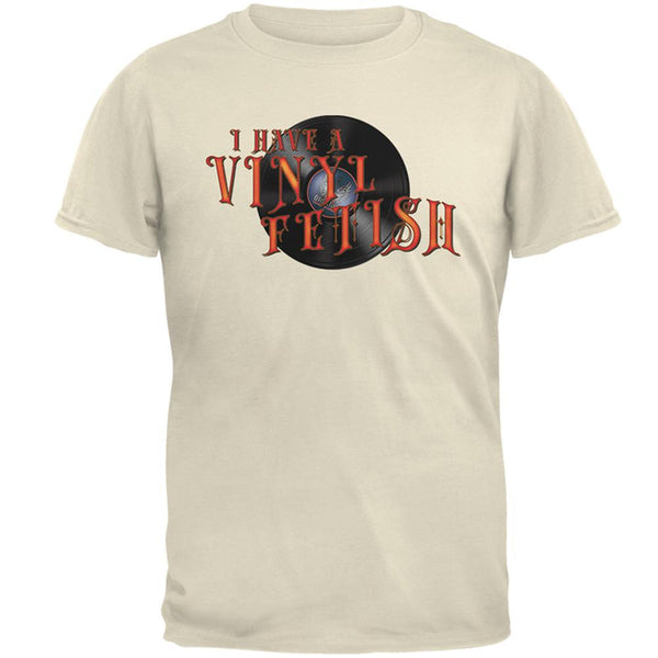 I Have A Vinyl Record Fetish Funny Mens T Shirt