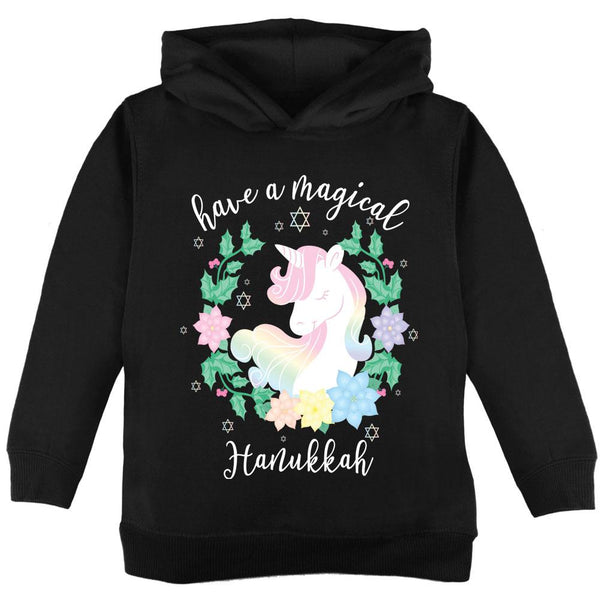 Have a Magical Hanukkah Unicorn Toddler Hoodie