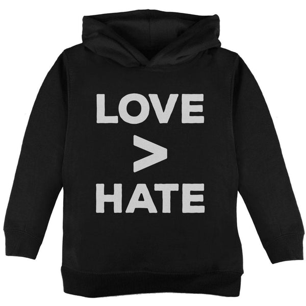 Activist Love is Greater Than Hate Toddler Hoodie