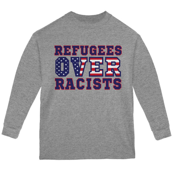 Activist Refugees Over Racists America Youth Long Sleeve T Shirt
