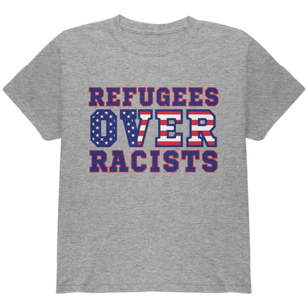 Activist Refugees Over Racists America Youth T Shirt
