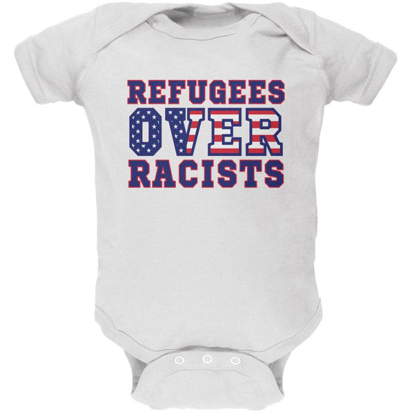 Activist Refugees Over Racists America Soft Baby One Piece