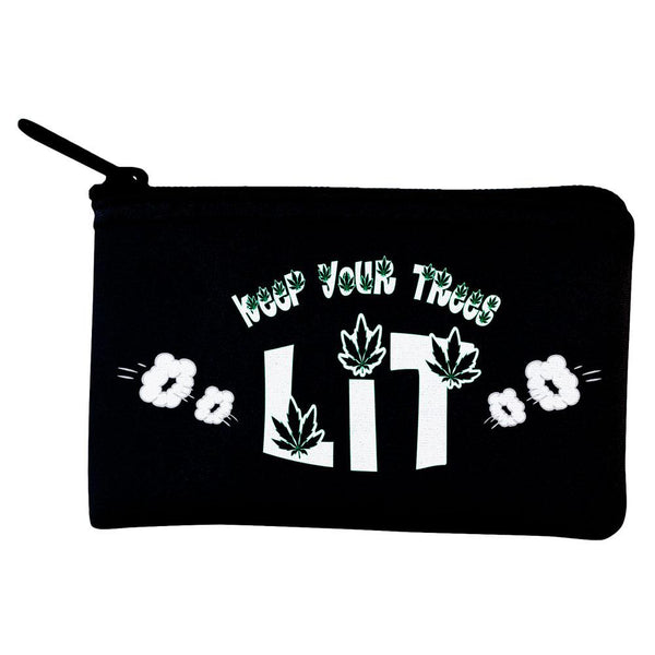 Marijuana Keep Your Trees Lit Coin Purse