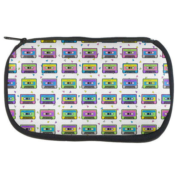 Retro Cassette Tape Pattern Travel Bag