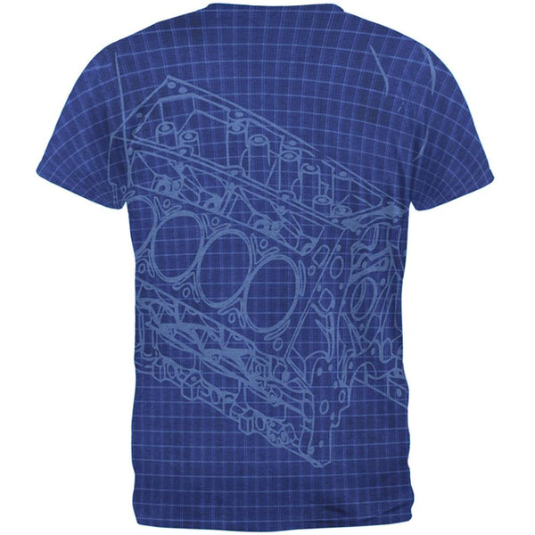Mechanic Still Playing With Blocks Mens Soft T Shirt