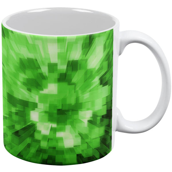 World Game Builder Forest Blocks All Over Coffee Mug