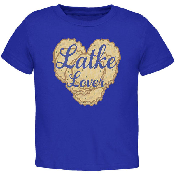 Hanukkah Latke Lover Toddler T Shirt