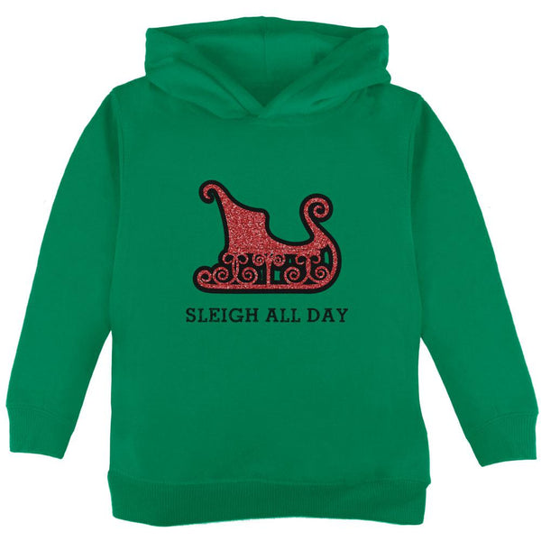 Christmas Sleigh Slay All Day Toddler Hoodie