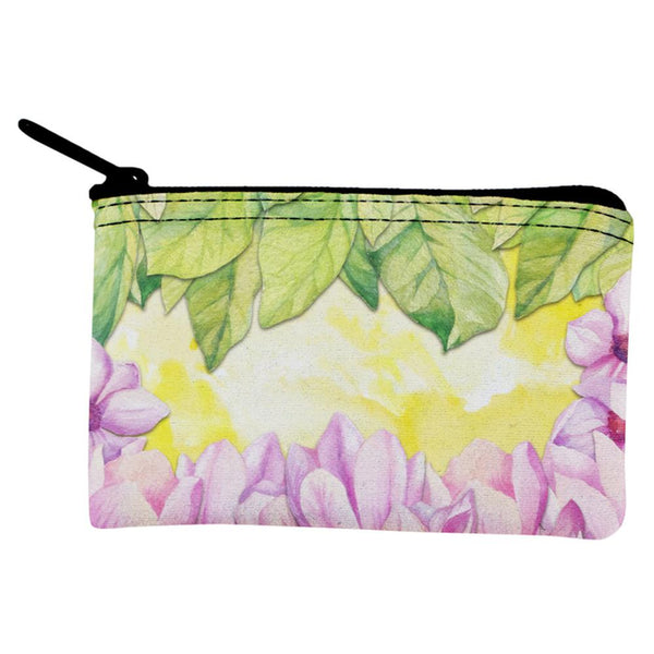 Mardi Gras French Quarter Magnolias at Sunrise Coin Purse