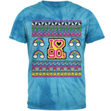 I Love the 90s Retro Nostalgia Ugly Christmas Sweater Mens T Shirt