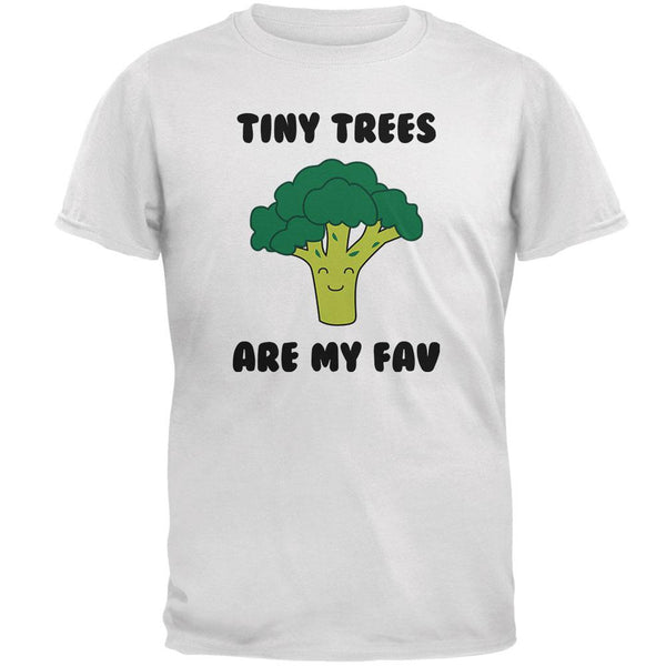 Vegetable Broccoli Tiny Trees are My Favorite Funny Mens T Shirt