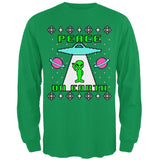 Alien Peace on Earth Ugly Christmas Sweater Mens Long Sleeve T Shirt