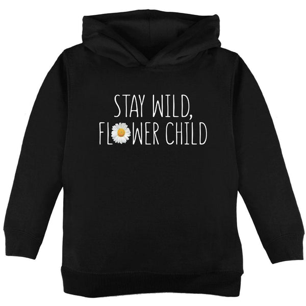 Stay Wild Flower Child Daisy Toddler Hoodie