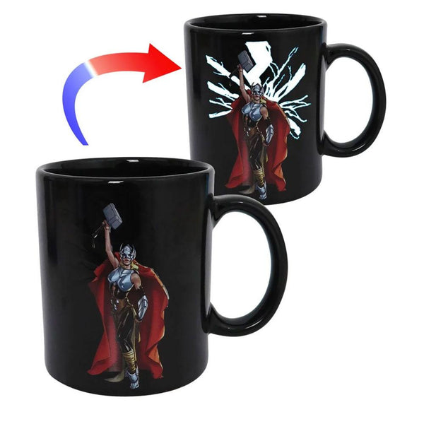 Thor - Lightning Hammer Color Changing Coffee Mug
