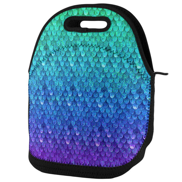 Mermaid Scales Lunch Tote Bag