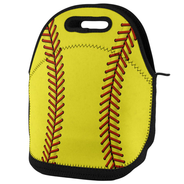 Softball Lunch Tote Bag