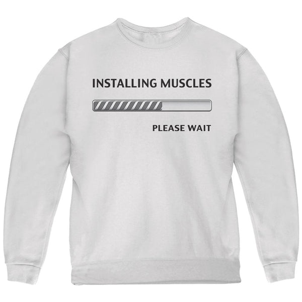 Installing Muscles Youth Sweatshirt
