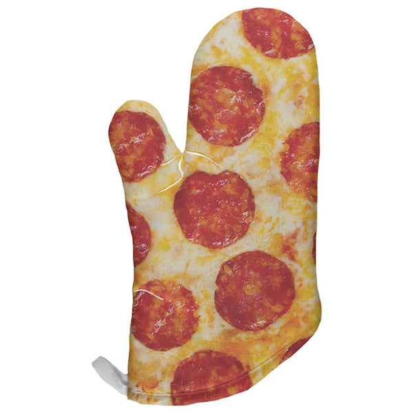 Pepperoni Pizza All Over Oven Mitt