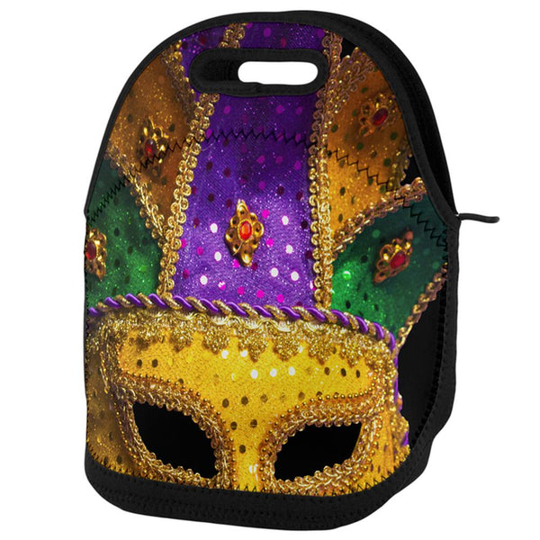 Mardi Gras Mask Lunch Tote Bag