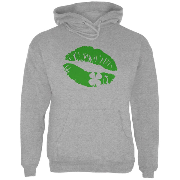 St Patrick's Day Kiss the Blarney Stone Mens Hoodie