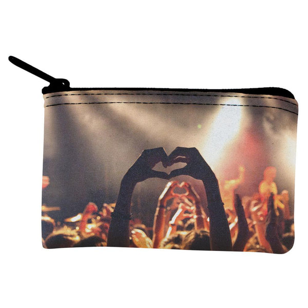Love in a Crowd Coin Purse