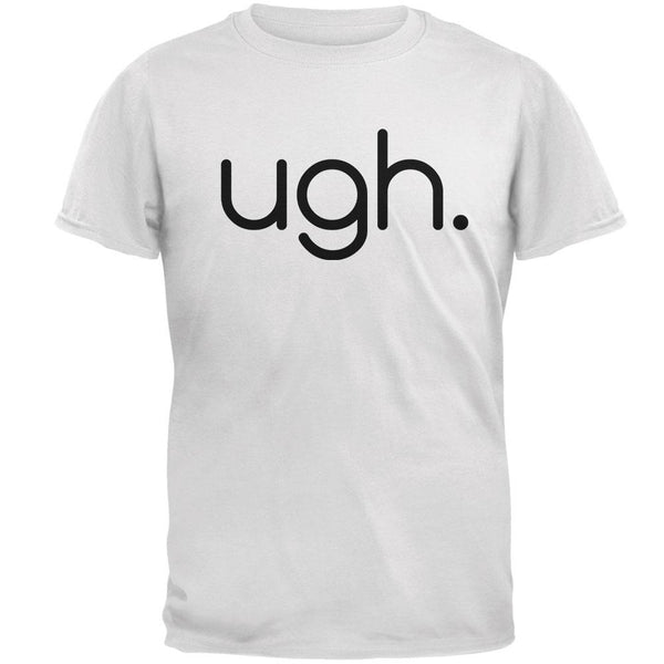 Funny Ugh Expression Mens T Shirt