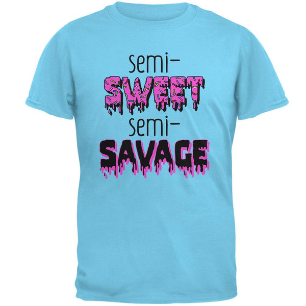 Semi-Sweet Semi-Savage Sprinkles Mens T Shirt