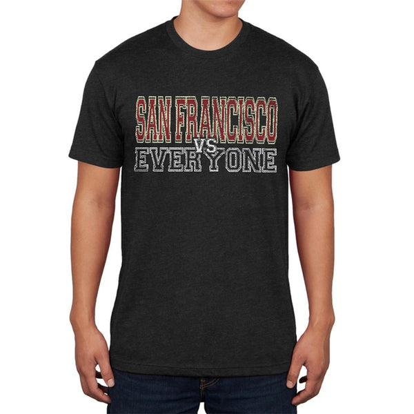 San Francisco VS Everyone Vintage Distressed Mens Soft T Shirt